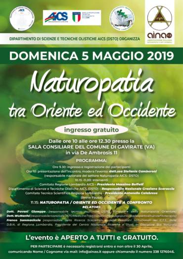 NATUROPATIA TRA L'ORIENTE E L'OCCIDENTE