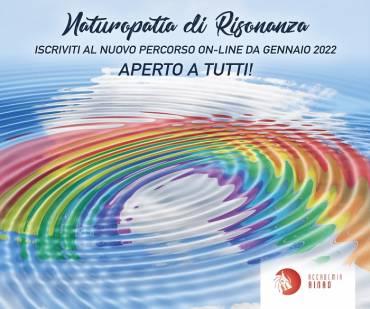 Da Gennaio 2022 nuovo percorso on-line NATUROPATIA DI RISONANZA